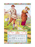 Jack and Jill  c1885