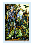Prince Cheri and the Dragon  c1878