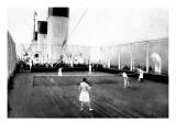 Tennis on Deck
