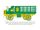 Flour Truck with Removable Sides and Stationary Driver's Seat