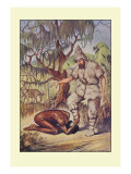 Robinson Crusoe: He Lays His Head Flat on the Ground