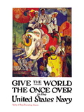Give the World the Once Over in the United States Navy   c1919