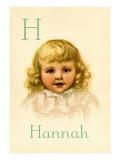 H for Hannah