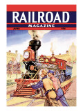 Railroad Magazine: Working on the Railroad  1943