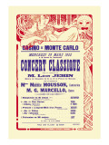 Concert at the Monte Carlo Casino