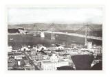 Oakland Bay Bridge  San Francisco  California