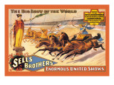 Ben Hur Chariot Races: Sells Brothers' Enormous United Shows