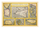 Maps of Italian Islands