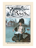 Puck Magazine: The Little Napoleon of Wall Street in Exile