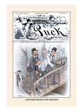 Puck Magazine: Another Patient for Pasteur
