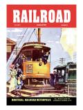 Railroad Magazine: Sea Isle  1952