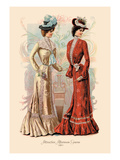Attractive Afternoon Gowns