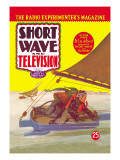 Short Wave and Television: Radio Controlled Ice Sailing