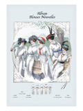 Album Blouses Nouvelles: Five Ladies in White