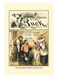 Puck Magazine: The Anarchist Fortune-Teller's Dupe