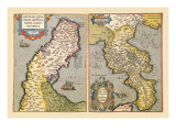 Maps of Peninsulas