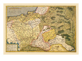 Map of Poland and Eastern Europe