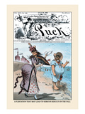 Puck Magazine: A Flirtation
