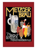 Metzger Blau