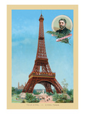 The Eiffel Tower at the Paris Exhibition  1889