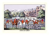 Fox Hunters Gather at Amstead Abbey
