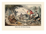 Henry VIII Monk Hunting