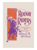 The Rough Riders: An Equestrian Scene