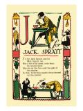 J for Jack Sprat