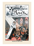 Puck Magazine: Politics in the Pulpit
