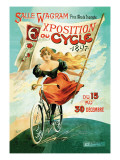 Bicycle Exhibition  c1897