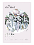 Album Blouses Nouvelles: Five Springtime Fashions
