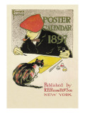 Poster Calendar 1897