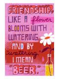 Friendship Blooms Like a Flower
