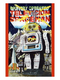 Battery Operated Television Spaceman