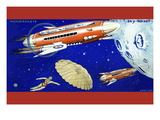 Mondrakete / Sky-Rocket