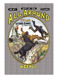All Around Weekly: Cyclone  The Horse Runner
