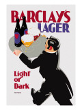 Barclay's Lager: Light or Dark