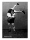 Ready to Drop: Russian Wrestlers