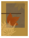 Leaf Abstract Ochre