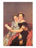 Portrait of The Daughters of Joseph Bonaparte