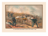 Siege and Barbette Guns  Fort Haskell  1865