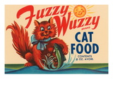 Fuzzy Wuzzy Brand Cat Food