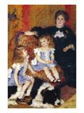 Madame Charpentier and Her Children