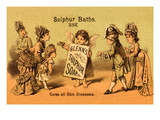 Glenn&#39;s Sulphur Soap - Cures All Skin Diseases