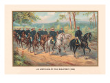 US Army Cavalry Field Equipment  1899