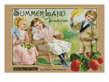 Crate Label &quot;Strawberry&quot;