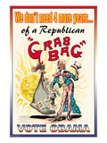 Vote Obama  End the Republican Grab Bag