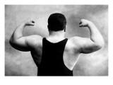 Russian Wrestler's Back and Shoulders