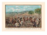 General Toral's Surrender of Santiago to General Shafter  July 13  1898