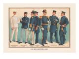 US Navy Uniforms 1899